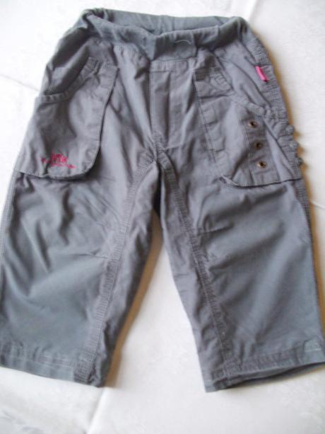 Kalhoty zn. baby blue - vel. 80, baby,80