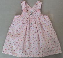 Jarní manžestrové šaty next 80/86, next,80