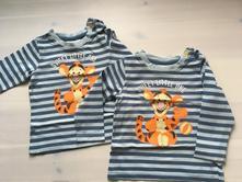 2x tričko s disney tygrem, disney,80