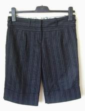 Černé tvídové kalhoty zn. miss selfridge vel. 38, miss selfridge,38