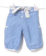 Dívčí kalhoty  56/62, f&f,56