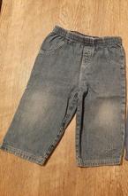 Tenké džíny vel. 9-12m, 80