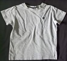 Vel. 104 šedé bavlněné triko, next,104
