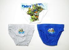 Slipy želvy ninja 3pack, 92 / 98 / 104 / 110