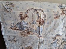 Velmi pěkné dívčí bavl. povlečení na velkou postel, 135,200