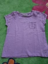 Fialové tričko, next,98