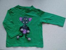 Tričko, triko s dlouhým rukávem, 92