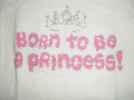 Tričko pro malou princeznu 9 - 12 m, matalan,74