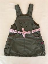 Šaty sukně s laclem, h&m,80