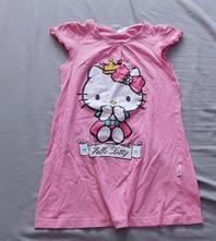 Šatičky/noční košilka s hello kitty vel.110/116, sanrio,110
