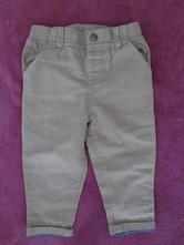 Béžové kalhoty vel. 86, f&f,86