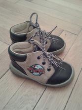 Kožené kotníkové botičky béďa obuv, 20