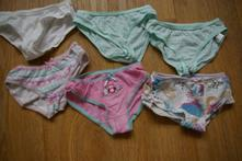 6ks kalhotek pro holky vel. 92, c&a,92