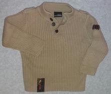 Přízový vojenský svetr, next,86