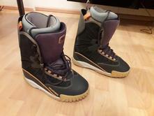 Snowboardové boty na prkno s vnitřní vložkou v.40,