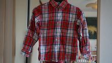 Skvělá károvaná košile kappahl vel. 116, kappahl,116