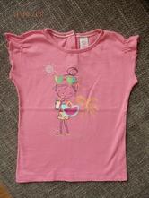 Růžové tričko s kr.r., c&a,92