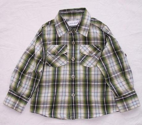 Košile s dlouhým rukávem vel. 9 - 12m, early days,80