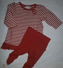 Komplet triko-tuničky + legínek na vel.cca.62-68, miniclub,62 / 68