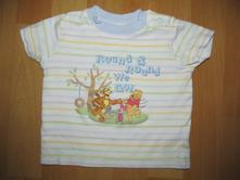 Tričko s medvídkem pú, disney,74