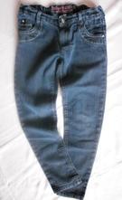 Dívčí džínové skinny, bluezoo,140