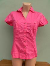 Růžová vypasovaná košile blůzka orsay - vel.36/38, orsay,36