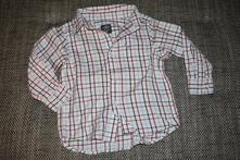 Krásná kostičkovaná košile hm, velikost 98, h&m,98