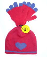 Nová čepice + rukavice, 98