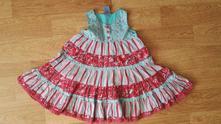 Letní šaty se spodničkou, pumpkin patch,86