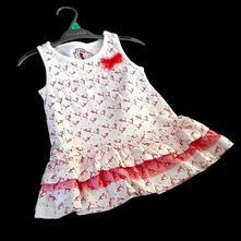 Dětské šaty, sat-0024-04, 98 / 104