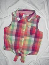 Nádherná vzdušná zavazovací košile, h&m,122