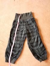 Kalhoty velikost 92 s úpletem do pasu, lupilu,92
