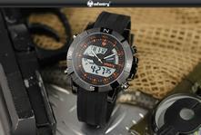 e37d08bf9ee Luxusní pánské hodinky infantry black-orange