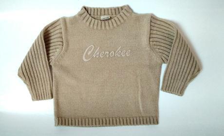 P27 - hnědý svetr , cherokee,92