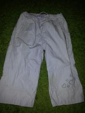Plátene tříčtvrteční kalhoty, h&m,98
