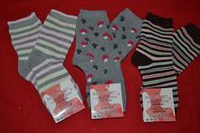 3x oteplené   ponožky dívčí, 26 - 31