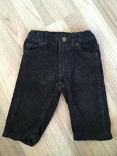 Manšestrové kalhoty, h&m,68