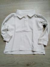 Bílé tričko zara s límečkem , zara,86