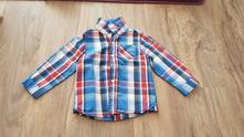 Krásná károvaná košile, c&a,86