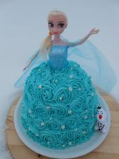 Elsa pro Magdalenku ke 3. narozeninám