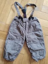 Zateplené kalhoty, h&m,74