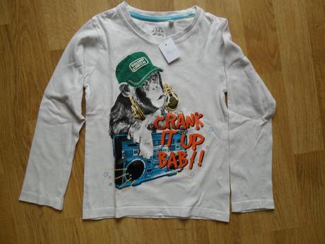 Opice tričko, c&a,110