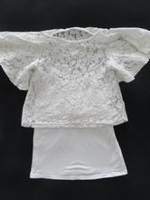 Krajkové tričko zn-lindex vel-128, lindex,128
