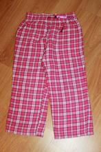 Pyžamové kalhoty, pyžamo, růžové-kostka, v.98-104, lupilu,98