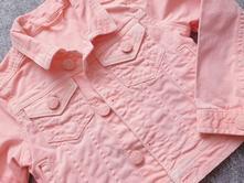 Neonová džínová bunda, mothercare,98