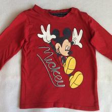 Tričko s mickey mousem zn. c&a, c&a,86