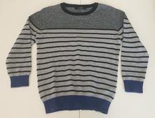 Bavlněný svetr proužky, george,128