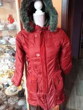 Teplý zimní dívčí kabát, 158