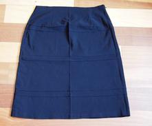 Elastická černá sukně, vel. 3, l