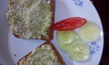 vajíčková pomazánka z avokáda :-)